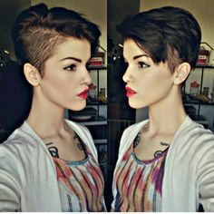 Not that I'm thinking about doing this, but this cut would definitely make you feel like a badass.