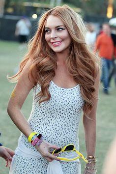 Coachella spottings: Lindsay Lohan, Nina Dobrev and Ian Somerhalder