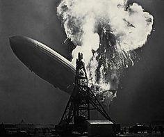 Hindenburg disaster, Thursday, May 6, 1937, Lakehurst, New Jersey