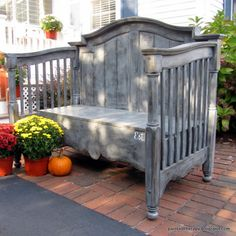 Hometalk :: A New Life for an Old Crib