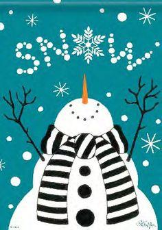 cute snowman   Let it snow - Glee Cast – Let It Snow – Listening & stats at Last ...