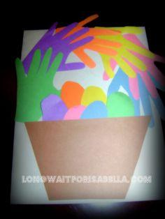 Preschool Easter Craft - Long Wait For Isabella