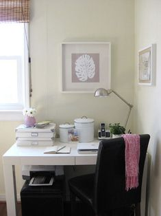 How to hide cord clutter under a desk