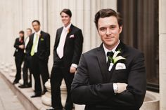 Kokoro Photography Magnolia Hotel Wedding on Marry Me Metro, a city wedding ideas blog groomsmen classic