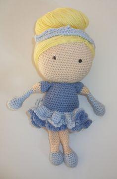 Cinderella Crochet Doll