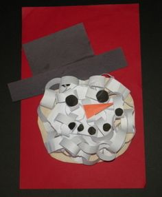 Snowman Head Craftivity-FREE