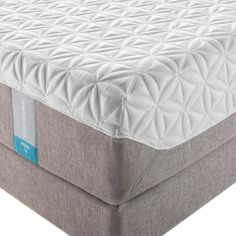 TEMPUR-Cloud® Prima starts with soft comfort and famous TEMPUR® support. You'll love the super-stretch cover with grey upholstery sides, along with the new moisture-wicking, cool-to-the-touch SmartClimate™ System. #sleephappens #mattresswarehouse #tempurpedic