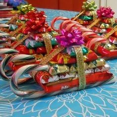 Candy Sleighs - ideas for my kids' presents