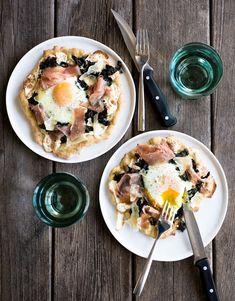 Breakfast pizza (bonus: it's gluten-free).