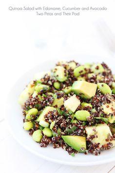 healthy salads, avocado recip, quinoa salad, vegan salads