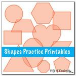 Shapes Practice Printables