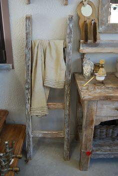 Salle de bain rustique ou shabby chic on pinterest - Salle de bain rustique chic ...