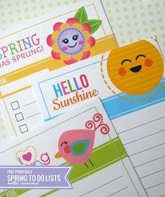 Cute To Do List Printables