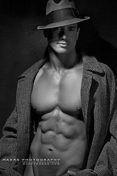Joe Putignano | © Scott Marrs ► scottmarrsphotography.blogspot.com | #MaleModel #pecs #abs #shirtless #muscular #physique #torso
