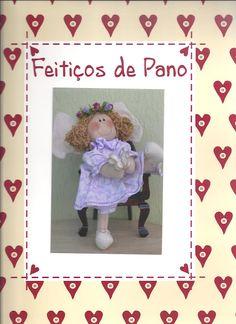 ARTESANATO FOFO: Boneca - Boneca de Pano com borboleta