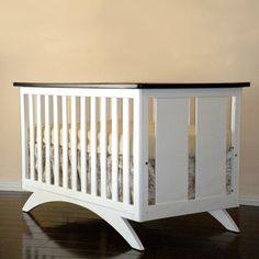 Eden Baby Madison Crib | Contemporary Cribs for the Modern Family | BabyZone nursery-ideas