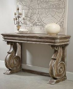 Ornamented with gorgeous scroll legs, this luxurious piece is as practical as it is beautiful.