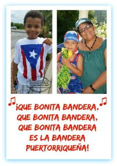 Discovering The World Through My Son's Eyes: Celebrating 122 yrs. of the Puerto Rican Flag