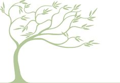 Willow Tree Drawing | Willow tree background image