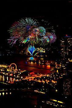 Chicago's Navy Pier Fireworks