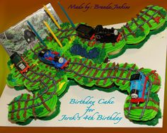 Thomas the Train Cupcake