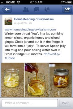 Cold and cough remedy i might have to try this today