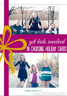 family holiday cards