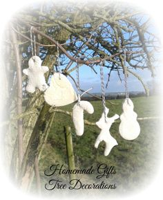 Homemade Gifts Tree Decorations