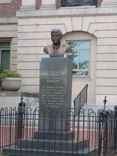 Nutfield Genealogy: JFK in Nashua, New Hampshire #jfk #familyhistory