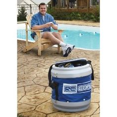 Radio – controlled Cooler, ON SALE! Just sit back and take the controls on your next soda pop delivery. Insulated sides keep your drinks cold for the big game, allowing the RC Cooler to cater your friends' drink needs without you leaving your perch.