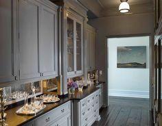 cabinet colors, floor, butler pantri, antique mirrors, paint cabinets, butler pantry, pantries, mirror backsplash, kitchen cabinets