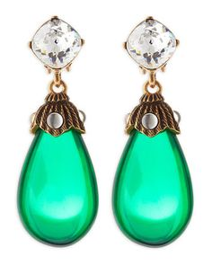 Shop now: Crystal Drop Earrings
