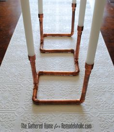 DIY Copper Pipe Cand