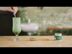 Iced Matcha Green Tea Latte Recipe   kenkotea