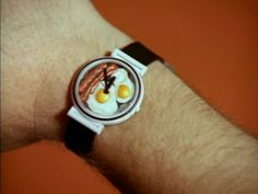 Eggs with Bacon Clock