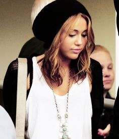 Miley Cyrus. i love her short hair...