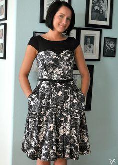 Suburbs Mama: Adding Sleeves to Sleeveless Dress