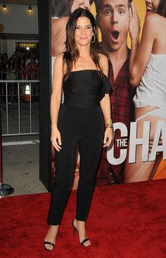 Simple Black Catsuit worn By Sandra Bullock. Buy your Catsuit for dance from DCUK Dance Clothes.