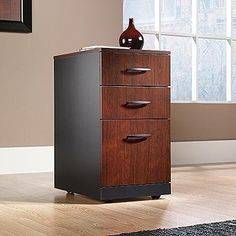 TOPSELLER! VIA Three Drawer Mobile Pedestal Clas... $119.96