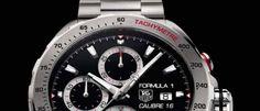 TAG Heuer Formula 1 2014 Es el modelo que llevan los mejores pilotos del 'gran circo' de la F1 y que entusiasma a los amantes de la competición.