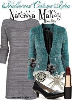 Inspired by Harry Potter character Narcissa Malfoy played by Helen McCrory in the film franchise.
