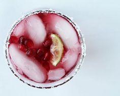 Pomegranate Lime Margarita.