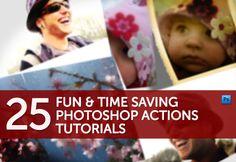 PhotoShop Actions Tutorials