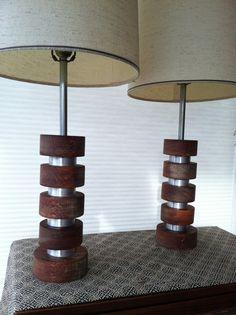 I love vintage lamps!