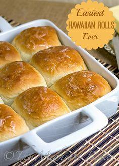 Easy Hawaiian Rolls