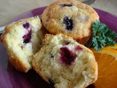 """Best Blueberry Muffins: """"Oh my! These mildly sweet and moist muffins are better than the ones that are sold at the local coffee shop!"""" -beckas"""