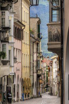 Steep Street, Lyon, France