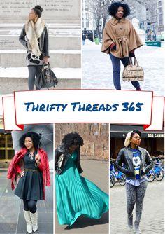 thrift shop, cheap chic, chic find, natur hair, uniqu natur, thread 365, thrifti thread, resal store