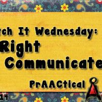 Watch It Wednesday: A Right to Communicate Get ready to smile and enjoy this video produced by the Dumfries and Galloway National Health Service.  Lots of great advice and tips for communication partners!
