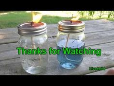 Mason Jar Candle - YouTube
